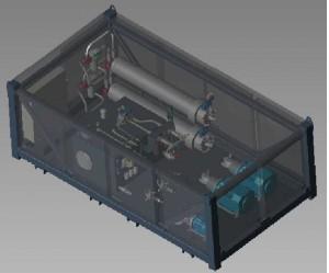 skid hydraulique hyperbar