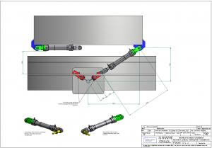 verin hydraulique ensemble mecanique tensionneur