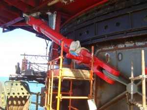 verin hydraulique offshore