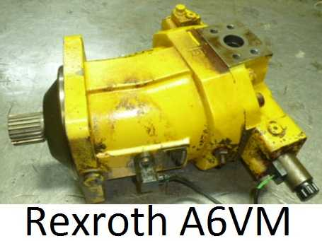 reparation moteur rexroth A6VM